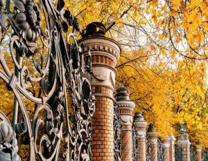 Six Famous Places Using Wrought Iron image